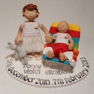 2-children-christening-cake-topper