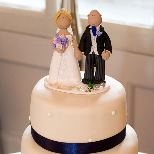 Wedding Cake Toppers On Their Cakes | Totally Toppers.com