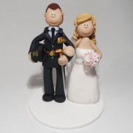 army-cake-topper