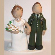 army-officer-cake-topper
