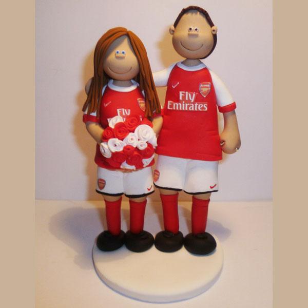 Arsenal Shield Cake Topper