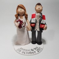 arsenal-scarf-cake-topper