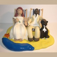 beach-deck-chair-cake-topper