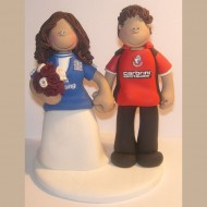bournemouth-everton-wedding-cake-topper