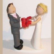 boxing-wedding-cake-topper