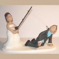 bride-fishing-wedding-cake-topper