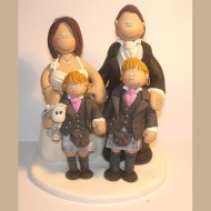 bride-groom-2-sons-cake-topper