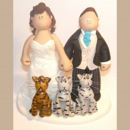 bride-groom-3-stripey-cats-cake-topper