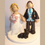 bride-groom-black-cat-cake-topper