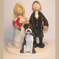 bride-groom-boxer-dog-cake-topper