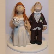 bride-groom-brown-suit-cake-topper