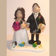 bride-groom-budgies-birds-cake-topper