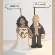 bride-groom-cake-topper-with-signposts