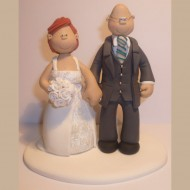 bride-groom-grey-jacket-wedding-topper