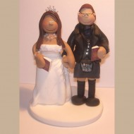 bride-groom-passport-grey-kilt-cake-topper
