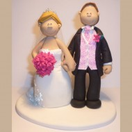 bride-groom-pink-theme-topper