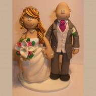 bride-groom-pink-tie-cake-topper