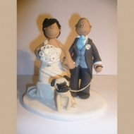 bride-groom-pug-dog-cake-topper