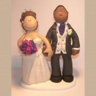 bride-groom-purple-pink-flowers-topper