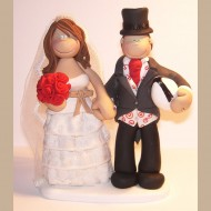 bride-groom-rugby-ball-cake-topper
