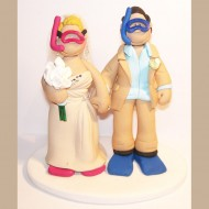 bride-groom-scuba-diving-cake-topper