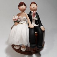 Bride And Groom Wedding Cake Toppers Totally Toppers Com