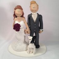 bride-groom-small-dog-cake-topper