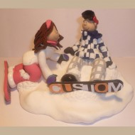 bride-groom-snowboarding-cake-topper