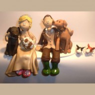 bride-groom-wellies-with-rabbits-cake-topper