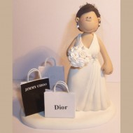 bride-shopping-cake-topper