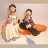 canoeist-wedding-cake-topper