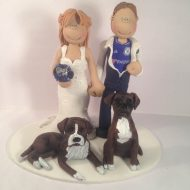 chelsea-fan-2-dogs-cake-topper