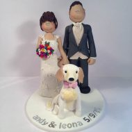 couple-with-dog-wedding-cake-topper