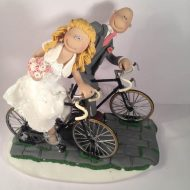 cycling-couple-wedding-cake-topper