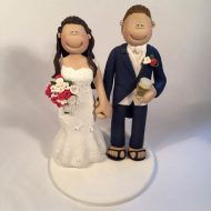 drinking a pint cake topper