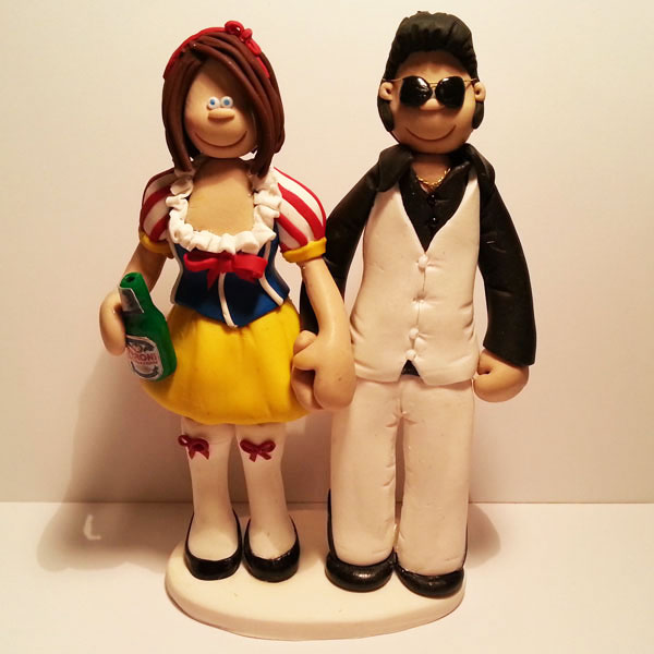 Themed Wedding Cake Toppers | Totally Toppers.com
