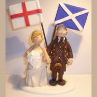 england-scotland-cake-topper