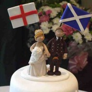 england-scotland-on-cake-topper