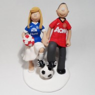 everton-man-utd-wedding-cake-topper