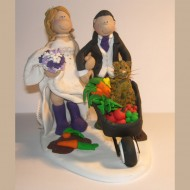 gardening-wedding-cake-topper