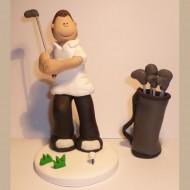 golfing-cake-topper