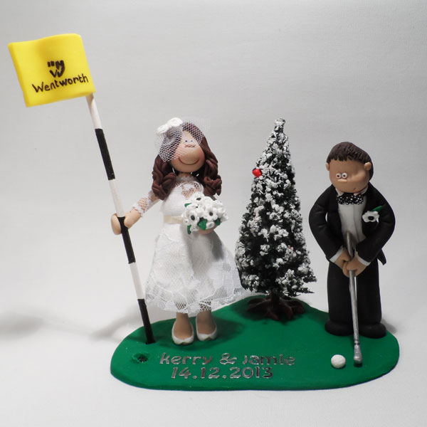 Themed Wedding Cake Toppers Totally Toppers Com