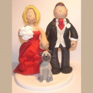 grey-cat-cake-topper
