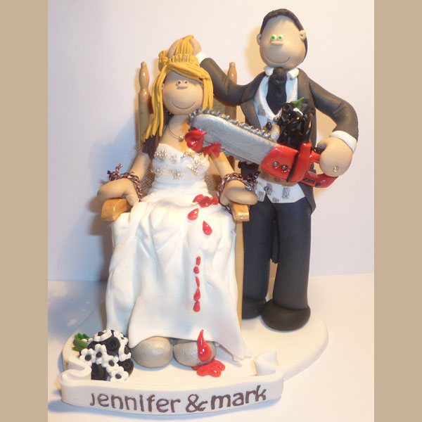 halloween wedding cake toppers themed wedding cake toppers totally toppers 4674