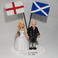 cheeky scottish wedding cake toppers and groom wedding cake toppers totally toppers 12550