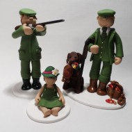 hunting-family-cake-topper