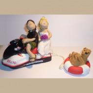 jetski-wedding-cake-topper