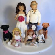 large-family-cake-topper-with-dogs