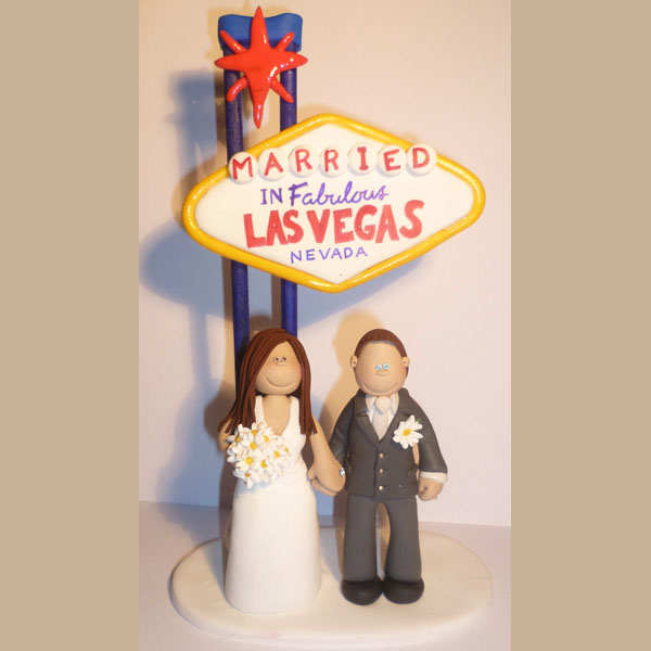 A Bride And Groom Off To Vegas For Their Wedding