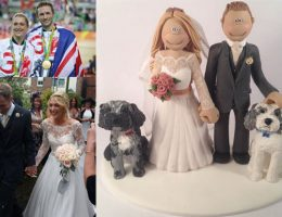laura-trott-jason-kenny-wedding-cake-topper
